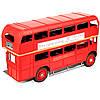 Модель красного двухэтажного лондонского автобуса 1864, фото 3