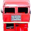 Модель красного двухэтажного лондонского автобуса 1864, фото 4