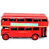 Модель красного двухэтажного лондонского автобуса 1864, фото 5