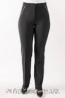 Женские классические брюки с  высокой посадкой