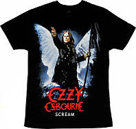 Рок футболка Ozzy Osbourne. Scream