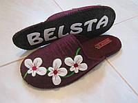 Женские валяные тапочки Belsta