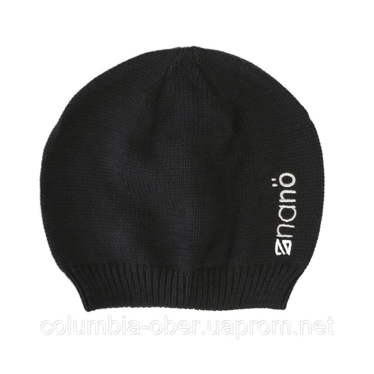Демисезонная шапка  для мальчика  NANO 200 BTUT S17 Black. Р-р  2/4Х - 7/12.