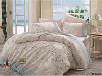 Комплект постельного белья Arya Beril (липовый) 1,5 - спальный