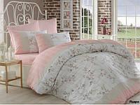 Комплект постельного белья Arya Beril (пудра) 1,5 - спальный