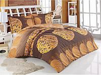 Комплект постельного белья Arya Anemon (коричневый) 1,5 - спальный