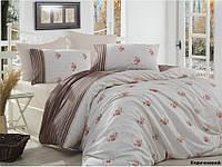 Комплект постельного белья Arya Miranda (коричневый) 2 - спальный