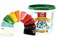 """Кондитерская мастика для покрытия торта  Добрик универсальная  """"10 цветов"""" 1кг"""