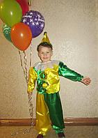 Прокат детского костюма Петрушка желто-зелёный на утренник