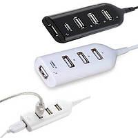 USB 2.0 HUB 4 порта разветвитель удлинитель, фото 1