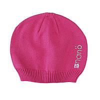 Демисезонная шапка для девочки NANO 200 BTUT S17 Flower. Размер 2/4х -  7/12.