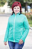 Стильная женская куртка демисезонная ПК1-202 (р.46-54), фото 1