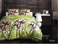Комплект постельного белья Arya Zen (зелёный) 2 - спальный