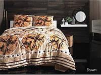 Комплект постельного белья Arya Zen (коричневый) 1,5 - спальный