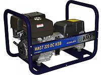 WAGT 220 DC KSB бензогенератор зварювальний для автономної роботи