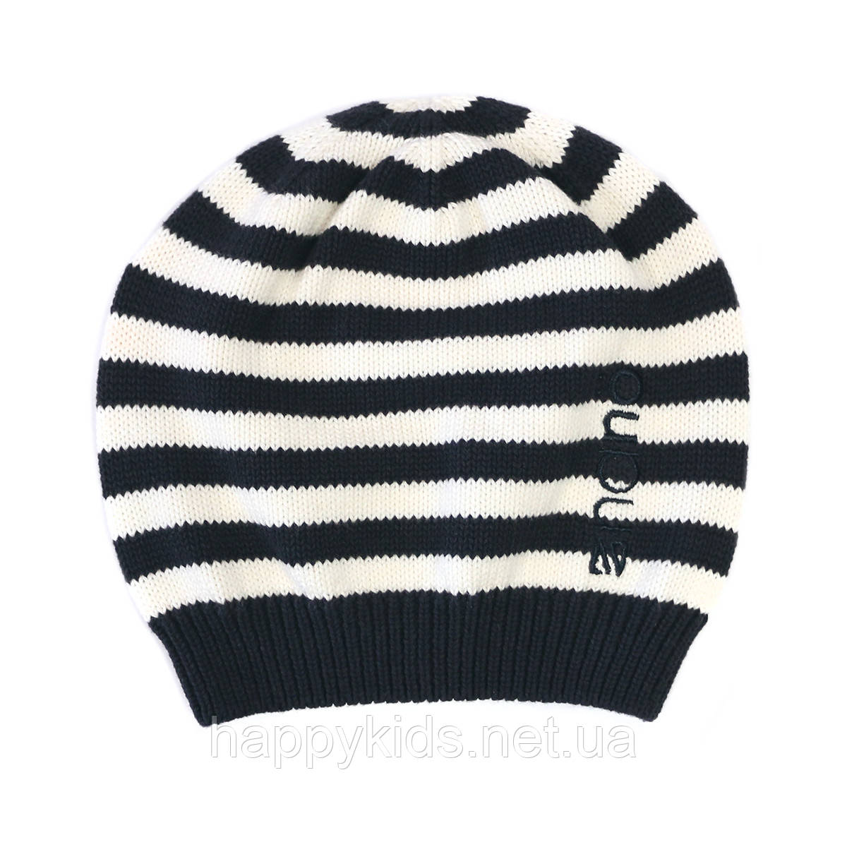 Демисезонная шапка для девочки NANO 254 TUT S17 Dark Navy. Размер м - 7/12.