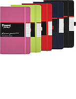 Блокнот на резинке A5 Axent Partner 8201 (96 листов) кремовая бумага, обложка твердая виниловая