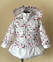 Куртка детская, для девочки, демисезонная,, фото 1