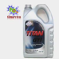 """Масло моторное синтетическое """"TITAN GT 1 5W-40"""", 5л"""