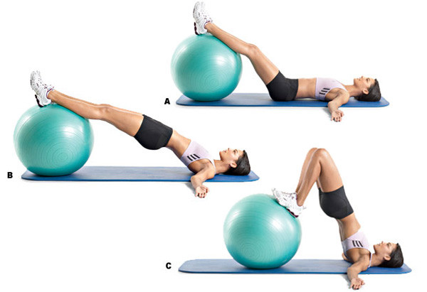 Мяч для фитнесса Gym Ball (фитбол)