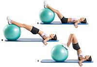 Мяч для фитнесса Gym Ball (фитбол), фото 1
