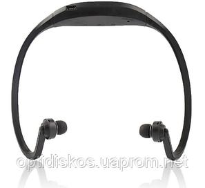 Спортивные Bluetooth наушники / MP3 плеер, черные, фото 2