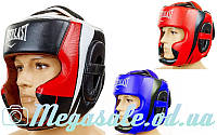 Шлем боксерский с полной защитой Elast 5242 (шлем бокс): 3 цвета, M/L/XL