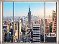 "Фотообои ""Вид из окна 192х276 (16 л)"" Люкс"