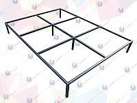 Рамка цельносварная для двуспальной кровати 2000*2000 мм