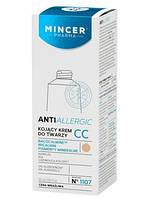 Mincer Успокаивающий крем CC для лица № 1107 15ml