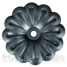 Кованый цветок 73х12х1,5 мм