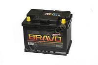 """Аккумуляторная батарея  60Ah EN480А 0(R+) L2 (242x175x190) """"BRAVO 60 Евро"""" (пр-во АКОМ,Россия) 24мес"""