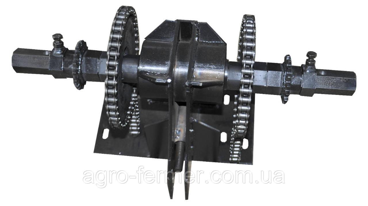 """Ходоуменьшитель 1:2,5 """"Zirka-105"""" на мотоблоки Кентавр, Zirka, Forte (8 болтів кріплення)"""