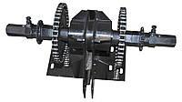 """Ходоуменьшитель 1:2,5 """"Zirka-105"""" на мотоблоки Кентавр, Zirka, Forte (крепление 8 болтов)"""
