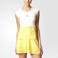 Спортивная женская футболка для тенниса adidas Barricade BK7952 - 2017