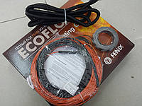 Тонкий нагревательный кабель под плитку FENIX ( в комплекте  с лентой и гофрой ) 0.8 м.кв