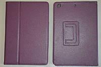 Чехол-книжка для Apple iPad mini (фиолетовый цвет)