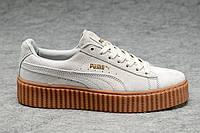Женские кроссовки  Rihanna x PUMA Creeper (Milk)