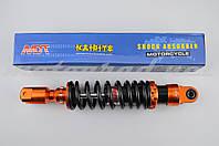 "Амортизатор GY6, DIO ZX, LEAD 320mm, тюнинговый ""NDT"" (оранжево-черный)"