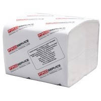Туалетная бумага ZZ (листовая) 250 шт/уп., 2сл. - ТМ PRO Servis