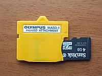 Переходник с карт памяти MicroSD на XD-Picture для Olympus (masd-1)
