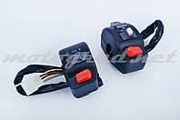 """Блоки кнопок руля (пара) 4T GY6 50 (диск/диск) """"EVO"""""""