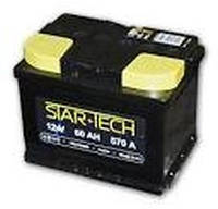 Аккумуляторная батарея 60Ah EN570А 1(L+) L2 (242x175x190) STARTECH (производство TAB,Словения)