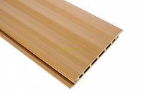 Сайдинг из древесно-полимерного композита  HOLZDORF 165х13х3000 мм Классик  * бук