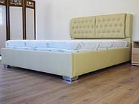 Кровать Тиффани с подъемным механизмом с мягким изголовьем полуторная