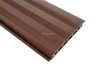 Сайдинг из древесно-полимерного композита  HOLZDORF 165х13х3000 мм Классик  *  каштан
