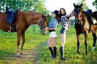 Верховые конные прогулки