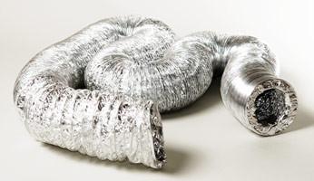 Гибкий алюминиевый воздуховод Aludec, 102мм.