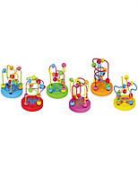 Мини-лабиринты Viga Toys, набор 6 шт,  развивающая игра лабиринт, деревянные игрушки