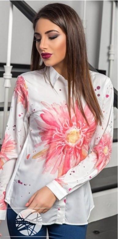 Красивая рубашка женская